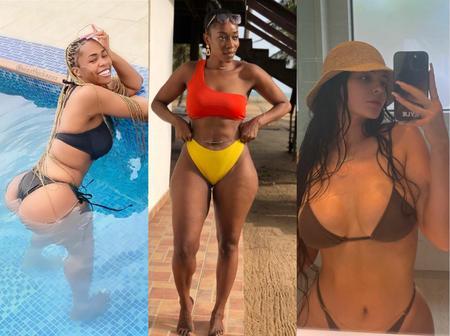 Destiny Amaka, Deborah & Kyle Jenner Share Bikini Photos On How They Spent Their Easter Break By The Pool & Beach