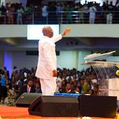 Declaration made by Bishop Oyedepo Today, which brings lot of reactions on his Twitter Page(photos)