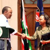 President Uhuru given another Mt. Kenya headache by another political leader