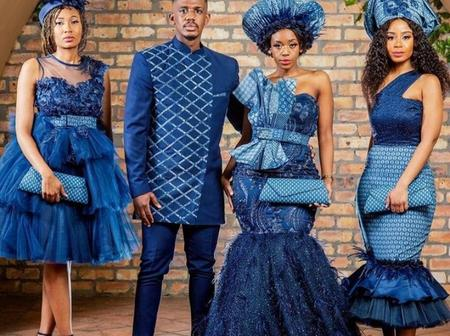 See 45 Pictures Of Tswana Design Dresses Ideas For Wedding
