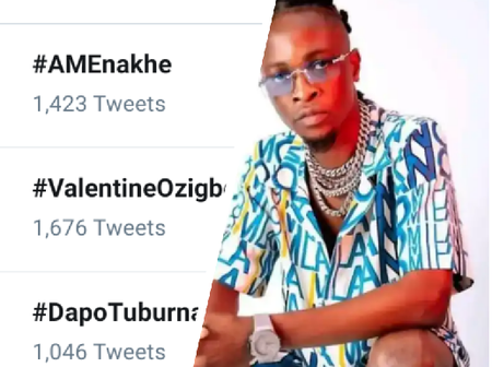 Laycon is trending on Twitter, See the reason why he is on the top trend.