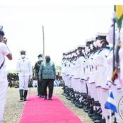 President Akufo-Addo Dresses In John Dramani's Cloth To Commission NDC's Projects -Volta Region.
