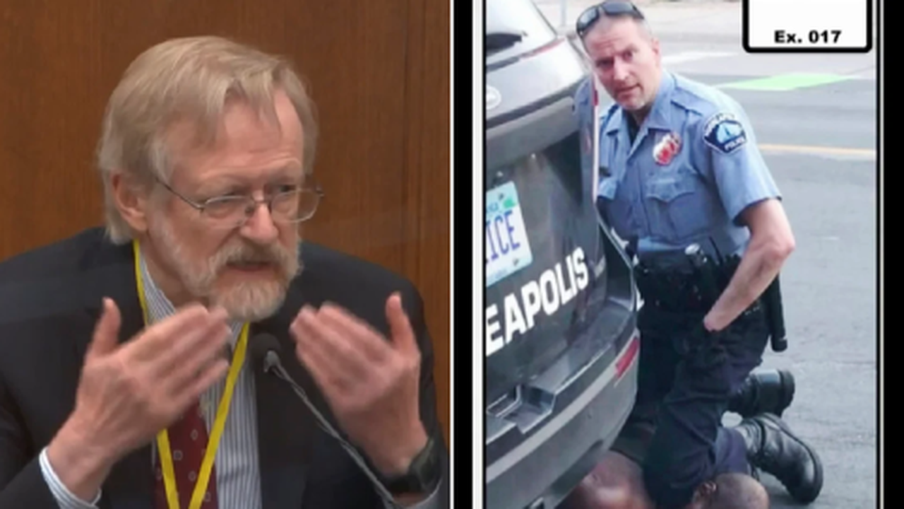 Doctor pinpoints to court exact moment George Floyd died