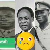 Meet Major Gen Bawah, Ex Army Commander, Refused To Join The Coup Against Nkrumah, Shot By Kotoka