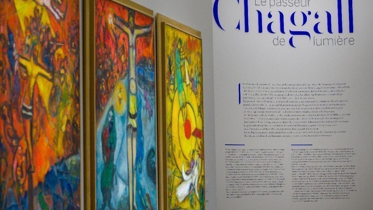 800 ans de la cathédrale de Metz : à la découverte de Chagall, en exposition au centre Pompidou
