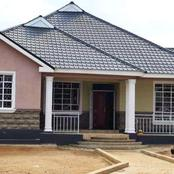 A Lady Shares Her Recently Built Bungalow Whose Estimated Cost Is 1.2 Million Kenyan Shillings