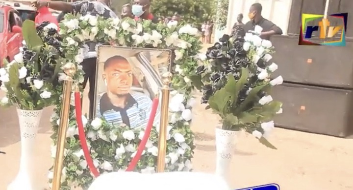 c4a64e313ae457d868d2e708f9de1888?quality=uhq&resize=720 - Sad: Scenes from the KNUST Uber driver funeral who was murdered by a final year student(Photos)