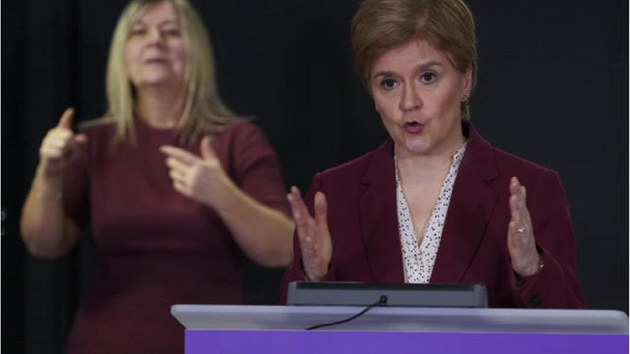 'Please plan to bring in 2021 at home with your own household' urges Nicola Sturgeon
