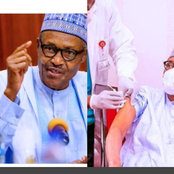 Hours After Buhari Received The Covid-19 Vaccine, Here Is What He Said To Nigerians