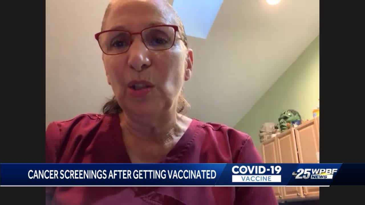 Doctors: COVID-19 vaccine could affect cancer screenings in women
