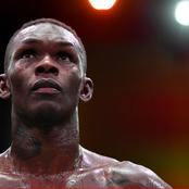 Nigerian UFC fighter, Israel Adesanya records first career loss