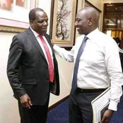 New Details Emerge On Wycliffe Oparanya And William Ruto's Meeting