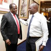 Wycliff Oparanya Clears The Air On His Visit To Deputy President William Ruto, See His Visit Reasons