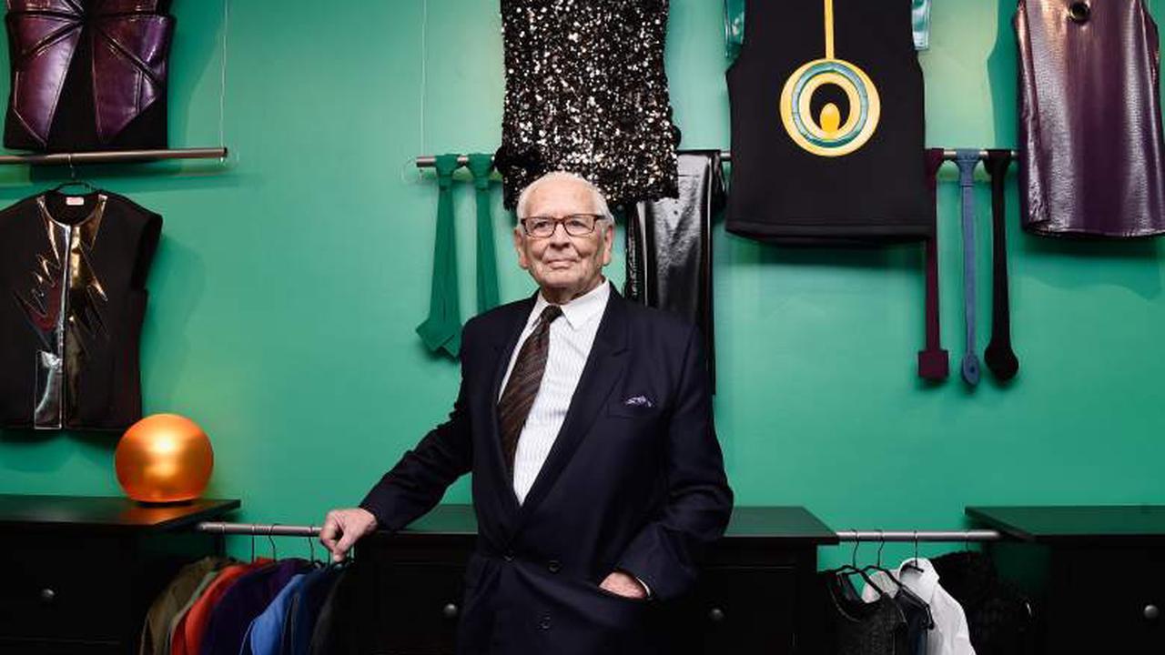 Fashion designer Pierre Cardin died
