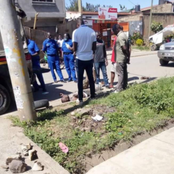 Fears In BuruBuru As An Alleged Bicycle Thief Was Stoned To Death