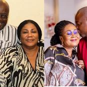 Between John Mahama and Akuffo Addo who get taste? See adorable photos of their wives