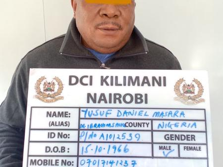 DCI Arrests Nigerian Man For Sh17.6 Million False Gold Sale While A Lady Is Robbed After Online Date
