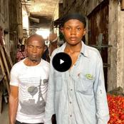 My Mum Left Me & My Blind Dad, He Earns Between N50-N200 Per Day, Life Has Been Hard For Us- Girl
