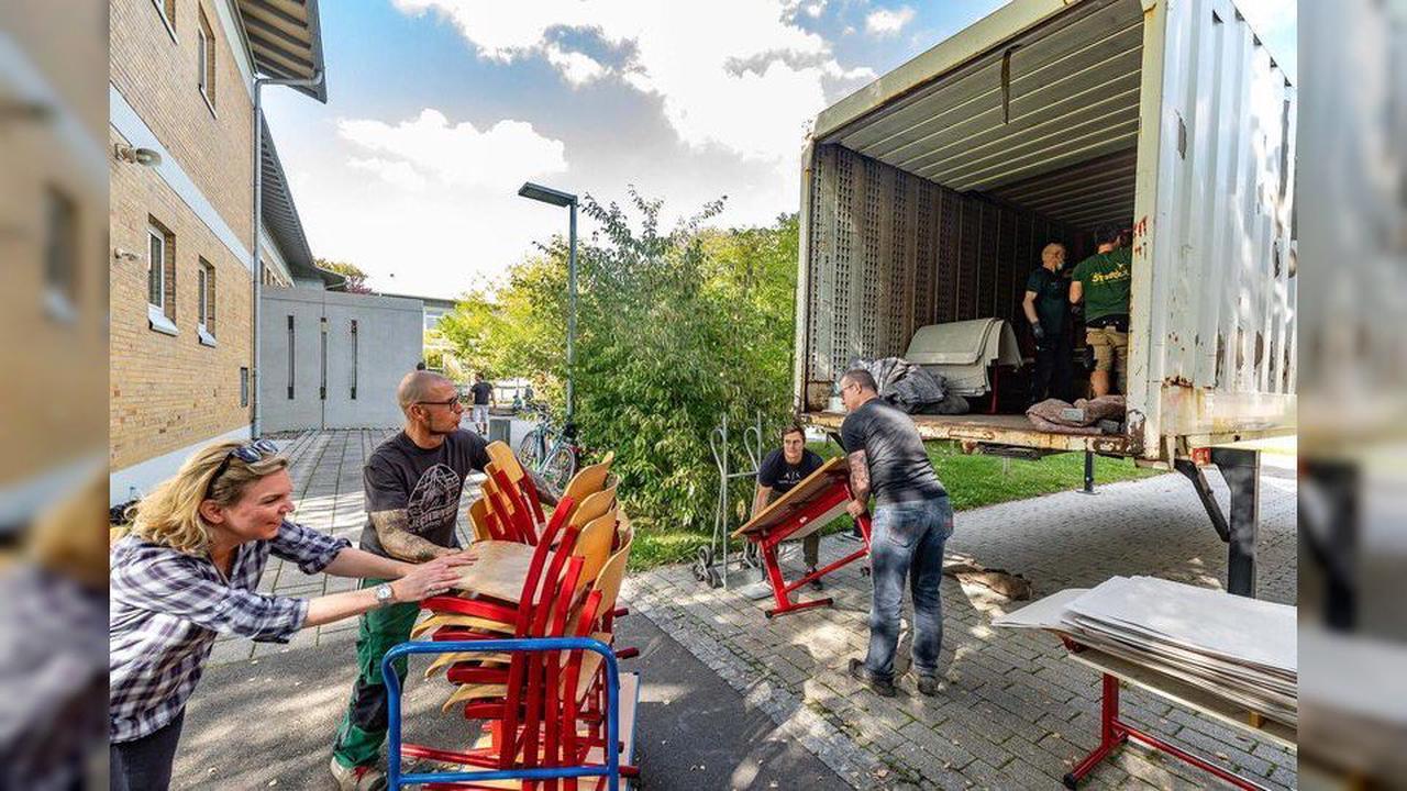 Lindauerin mit Wurzeln in Ahrweiler macht's möglich: VHG-Schulmöbel helfen im Flutgebiet