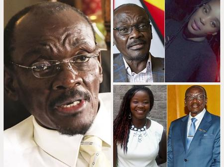 4 Ladies that Vice President Kembo Mohadi has dated.