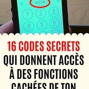 16 codes secrets qui te donnent accès à des fonctions cachés de ton téléphone