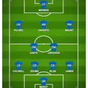 How Chelsea could beat Manchester united using this Lineup.