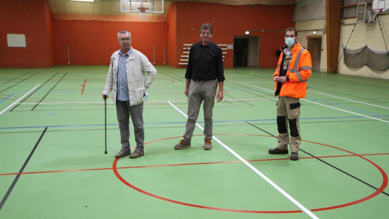 Samer : la salle Lemanski s'offre un nouveau revêtement au sol