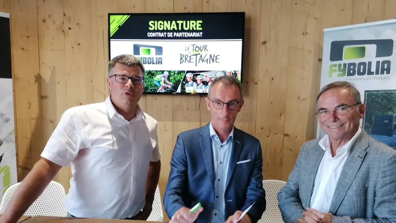 Cyclisme. L'entreprise Fybolia rejoint le Tour de Bretagne