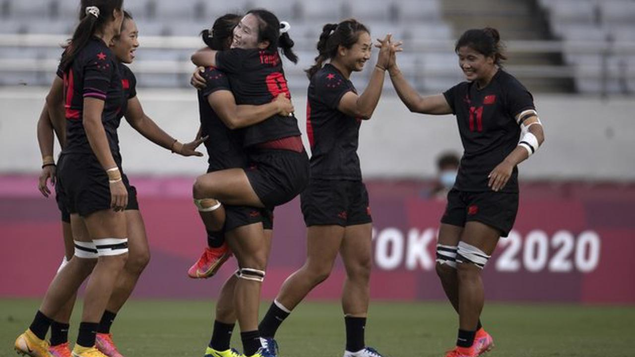 China makes breakthrough in women's rugby sevens at Tokyo Olympics