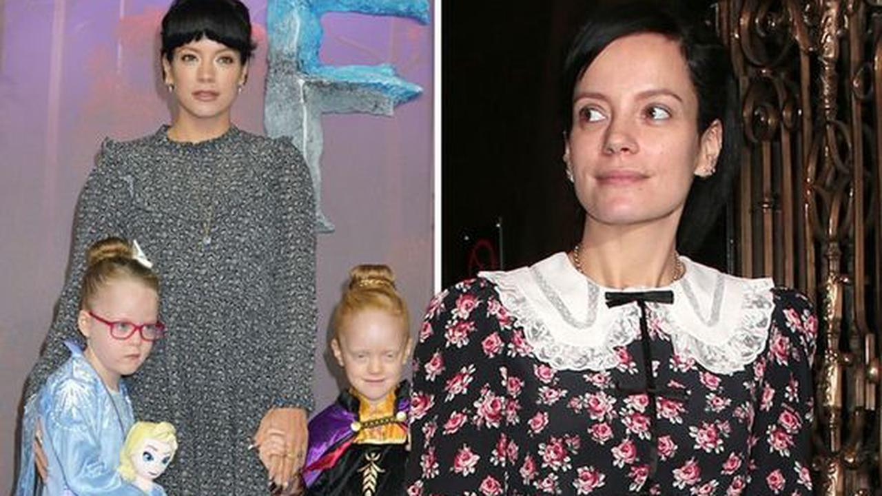 Lily Allen wades into school closures debate 'What's best for kids - no school or no air?'