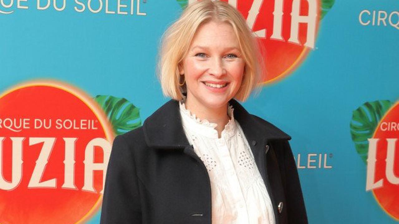 Joanna Page jokes she won't have 'any retirement' after falling pregnant with 4th child