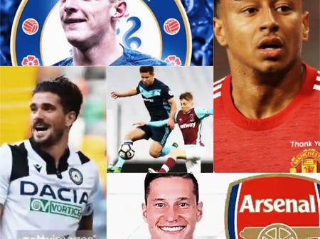 TRANSFER NEWS TODAY: DONE DEALS, updates on Lingard, Draxler, Rice and More
