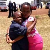 Kumbe Unajua Kuchagua, Inspector Mwala Told As He Shares This Photo Of Him With His Wife Online