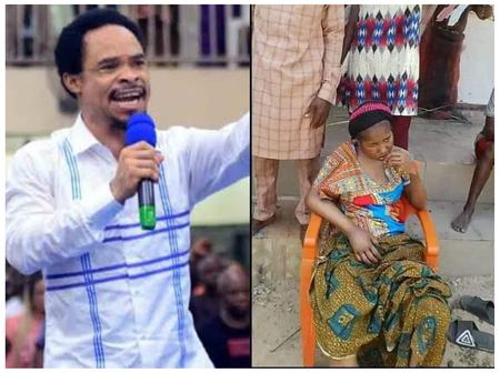 You Won't Get Up–Prophet Odumeje, Rita Edochie Rain More Curses On Ada Jesus Publicly (VIDEO)