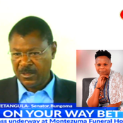 Wetang'ula Reveals How His Phone Call Got Betty Barasa Employed At KBC 17 Years Ago