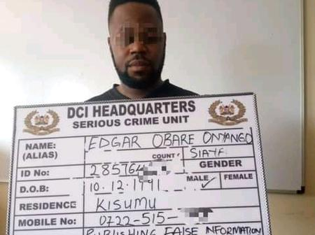 Detectives Unearth Dirty Tricks Edgar Obare Employs to Obtain Money From Prominent Personalities