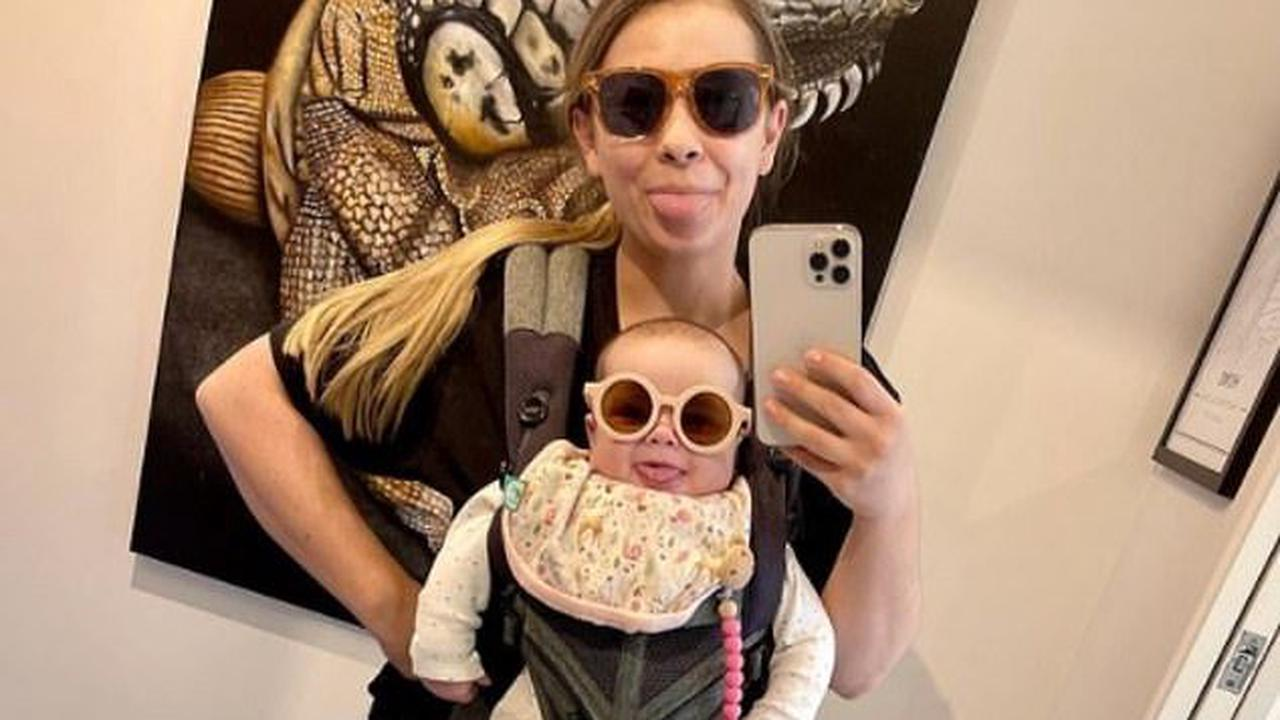 Twinning! Bindi Irwin and baby daughter Grace Warrior, six months, wear matching sunglasses: 'It's a vibe'