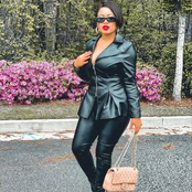 Nina Ivy Looks Stunning in All Leather Outfit, as She Motivates Fans With a Quote