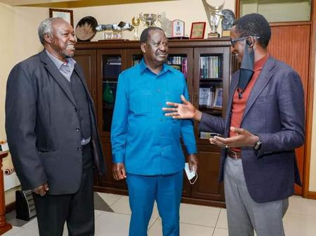 Kenyans React After Buzeki Met With the Opposition Leader Raila Odinga