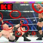 WWE Fights Could Be Fake! See Some Pictures That Will Make You Think So