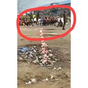 Soldiers In Warri Did Not Beat Or Flog These Curfew Violators, What They Did Will Make You Love Them