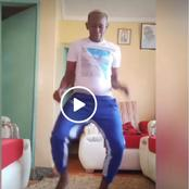 Netizens Applaud Kanda Junior for His Talented Lingala Moves