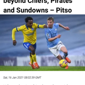 Finally Pitso has given his thoughts about Percy Opinion