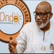 Governor Akeredolu Approves The Recitation of Oodua Regional Anthem in All schools in Ondo State