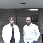 Netizens reactions as DP meets Willy Paul