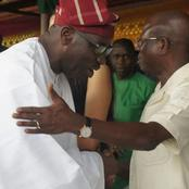 Finally Oshiomhole Makes Peace With Governor Obaseki, Calls Him His Brother And Friend