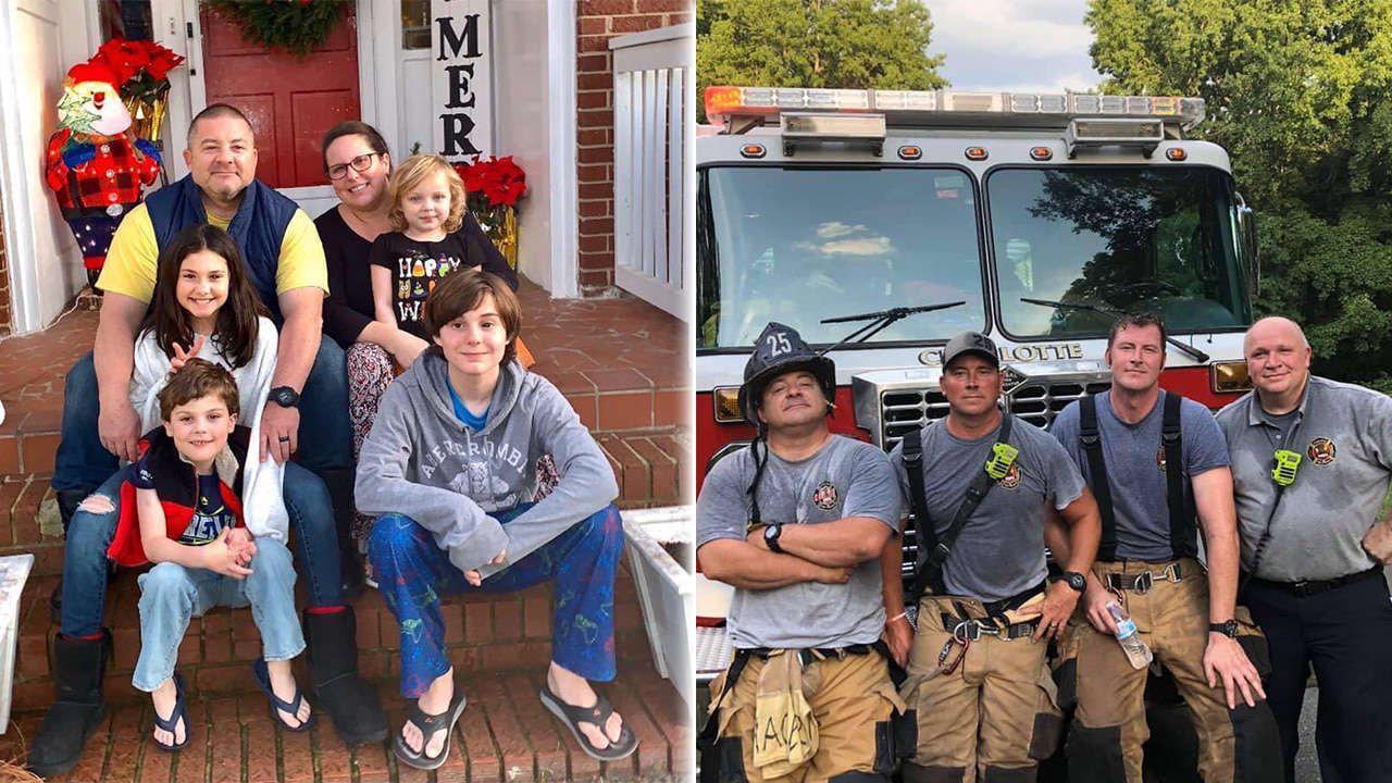 Huntersville Fire says veteran firefighter, wife battling COVID-19