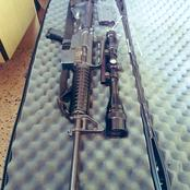 DCI Seize an M4 Sniper Rifle Among Other Weapons From Two Women in Dagoretti