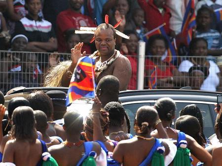 The Apotheosis Of Mswati III: God-King Of Swaziland