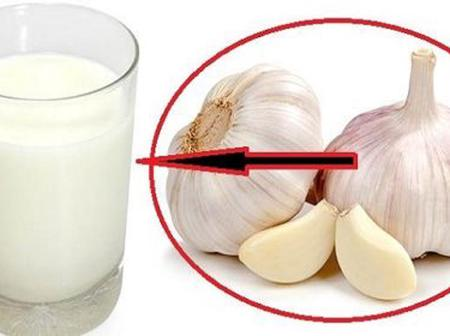 Boil Garlic and Milk, Drink 2 Times A Day To Kill This Common Disease